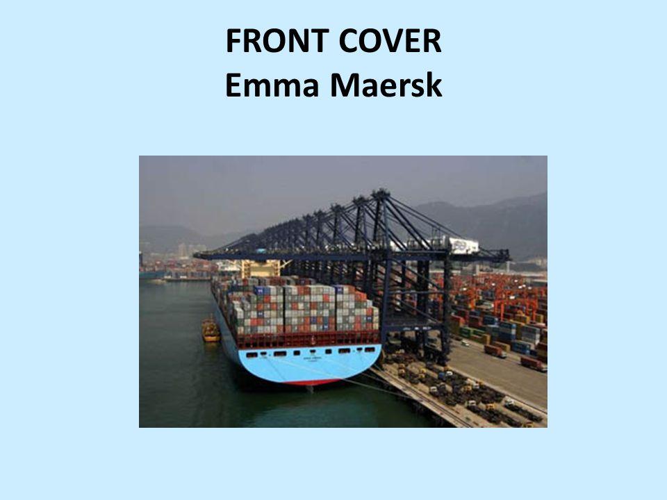 FRONT COVER Emma Maersk