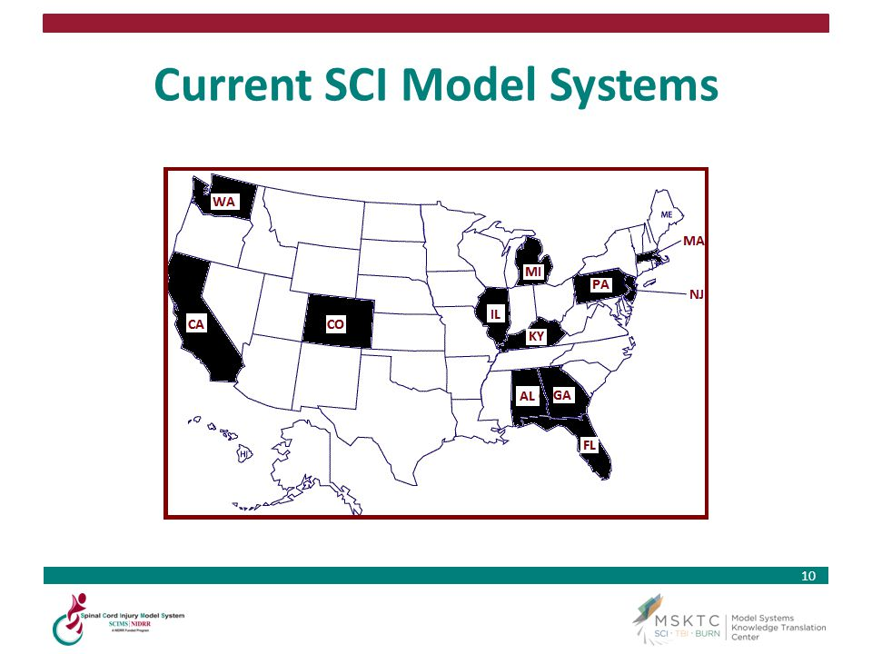 Current SCI Model Systems