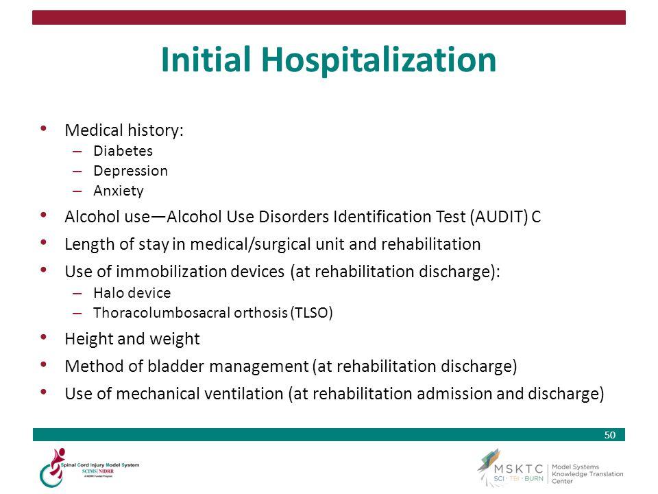 Initial Hospitalization