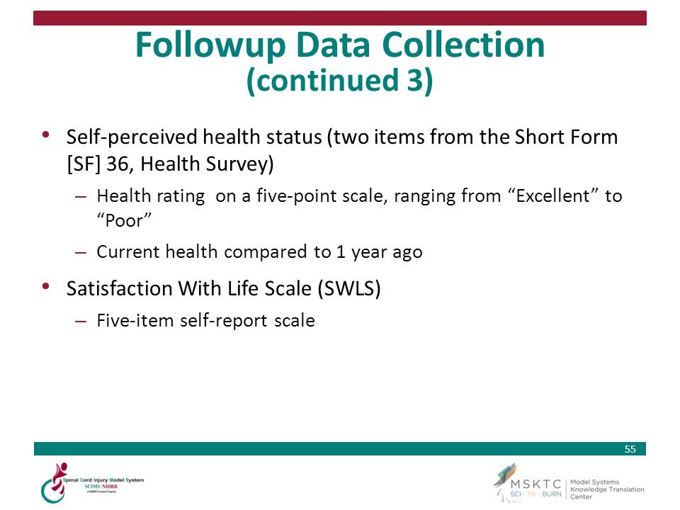 Followup Data Collection (continued 3)