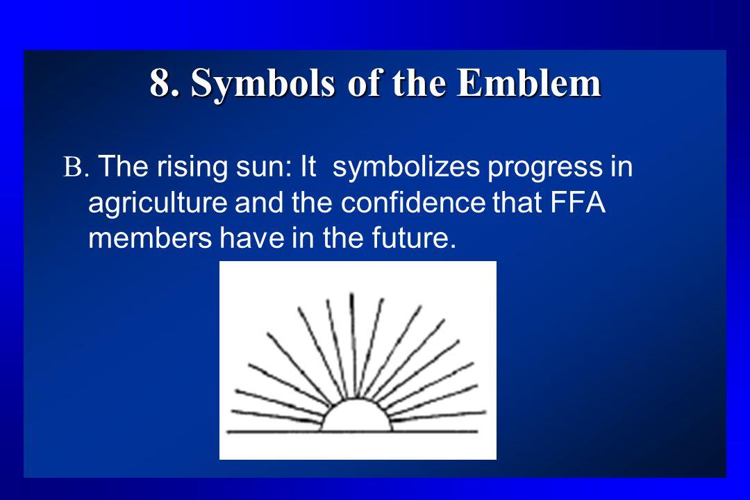 8. Symbols of the Emblem B.
