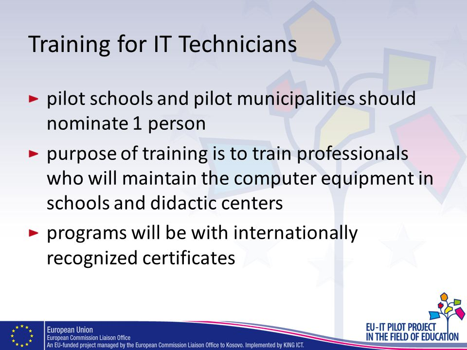 Training for IT Technicians