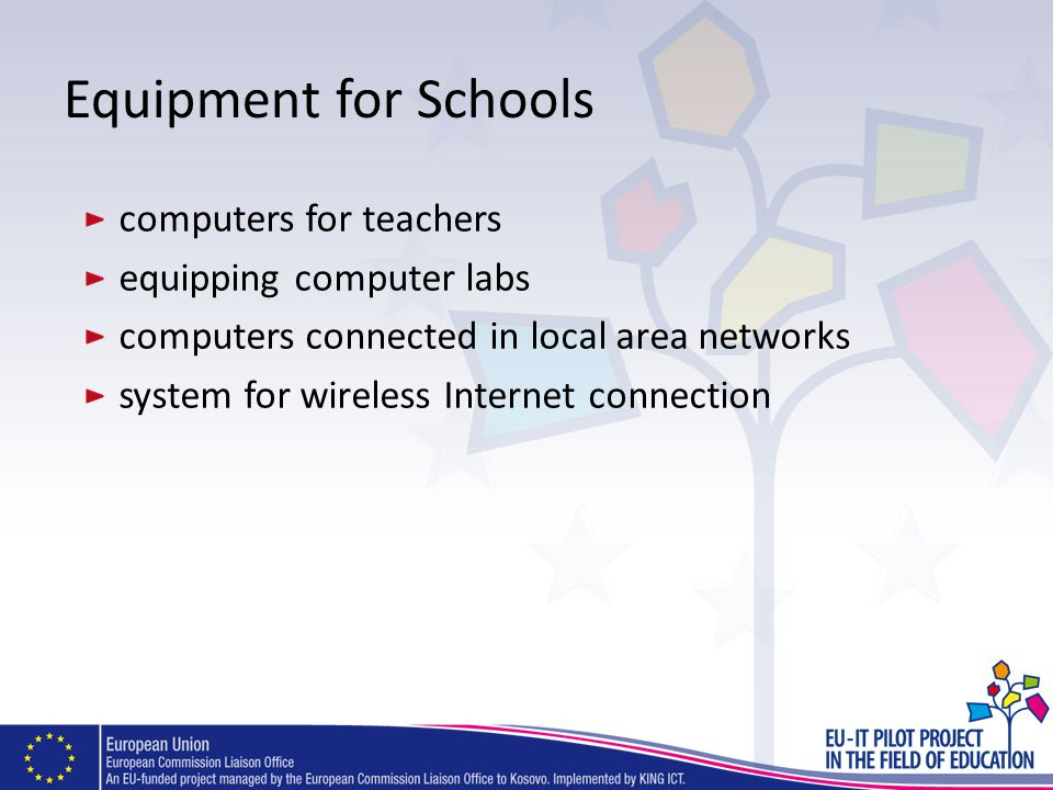 Equipment for Schools computers for teachers equipping computer labs