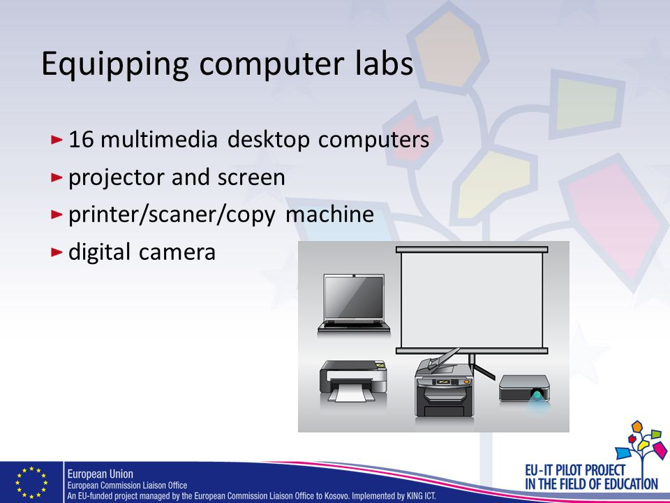 Equipping computer labs