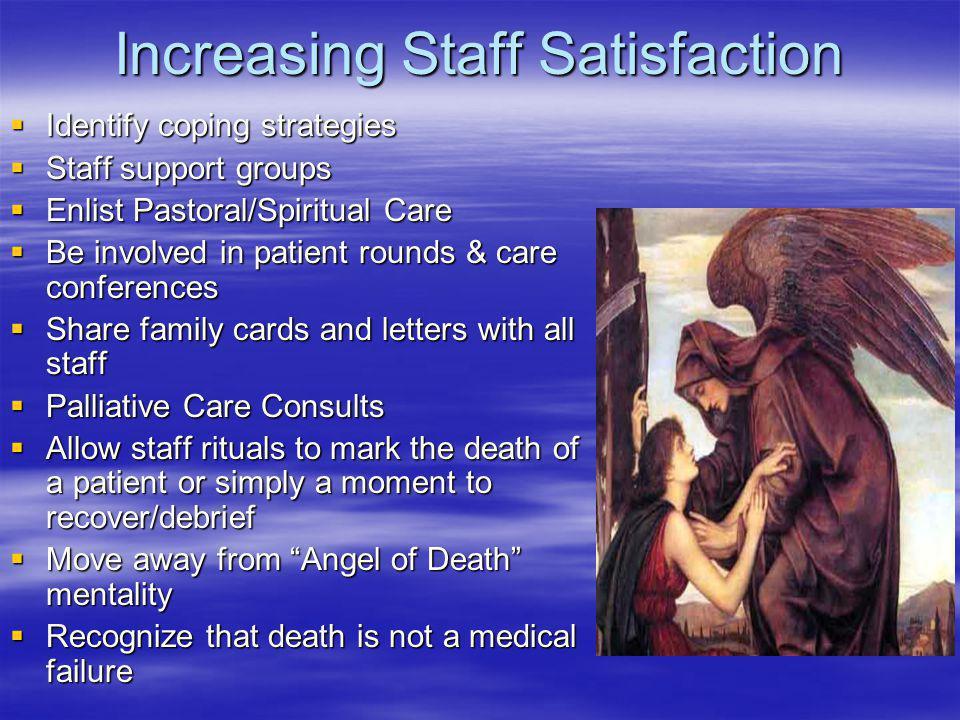 Increasing Staff Satisfaction