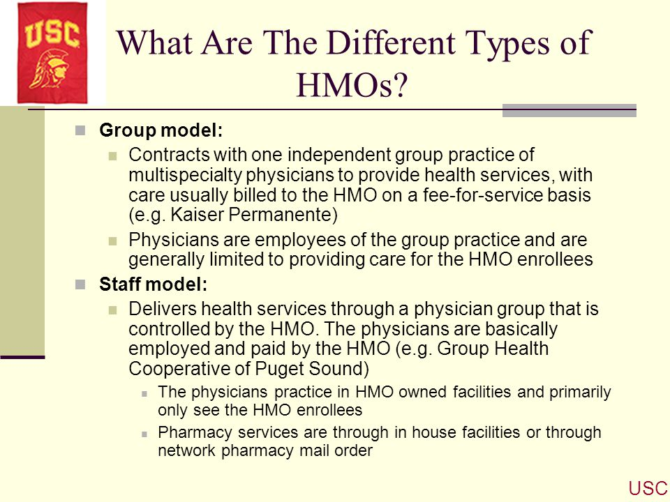 What Are The Different Types of HMOs