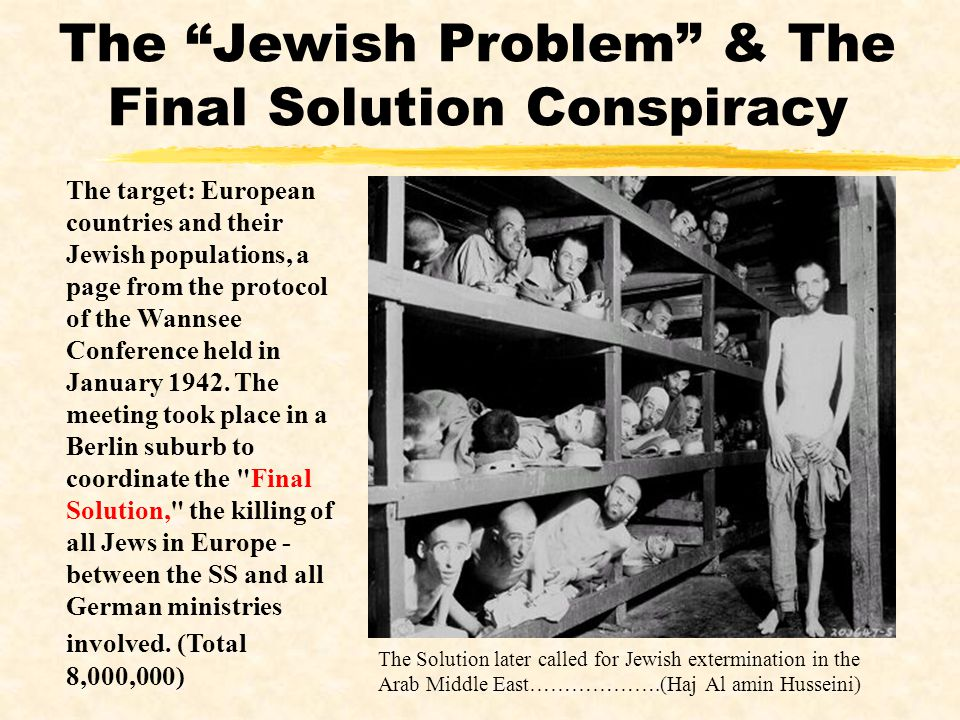 The Jewish Problem & The Final Solution Conspiracy
