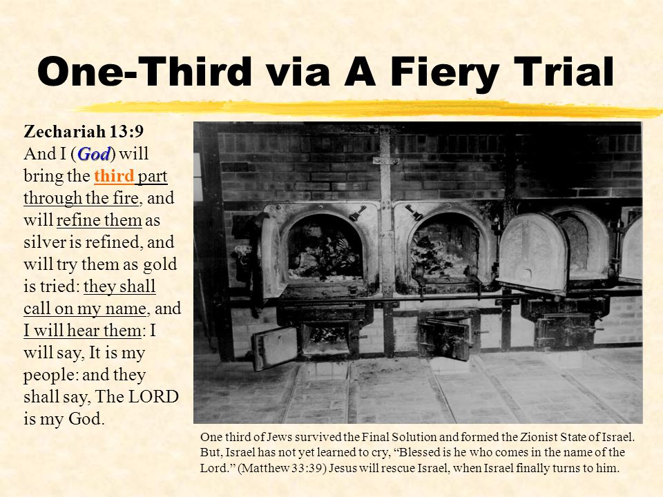 One-Third via A Fiery Trial
