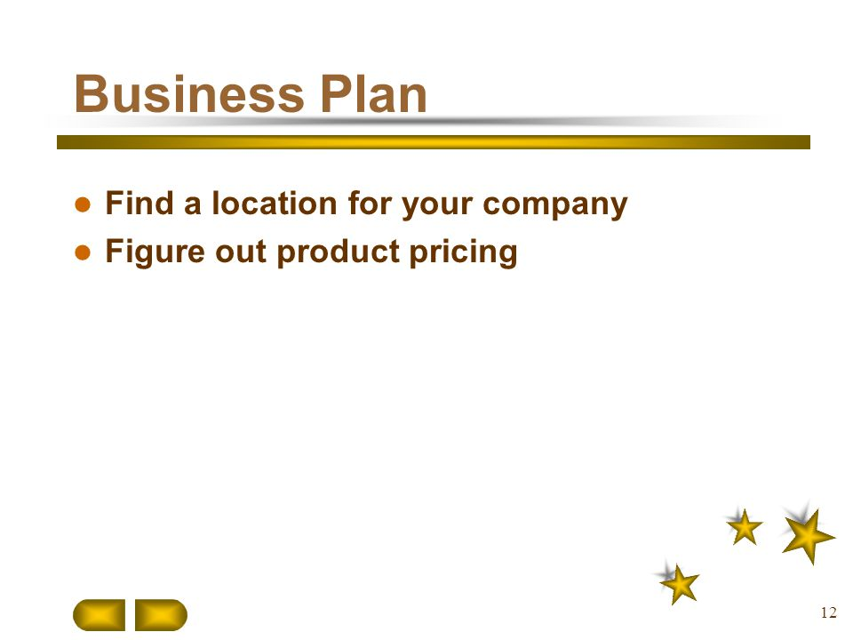 Business Plan Find a location for your company