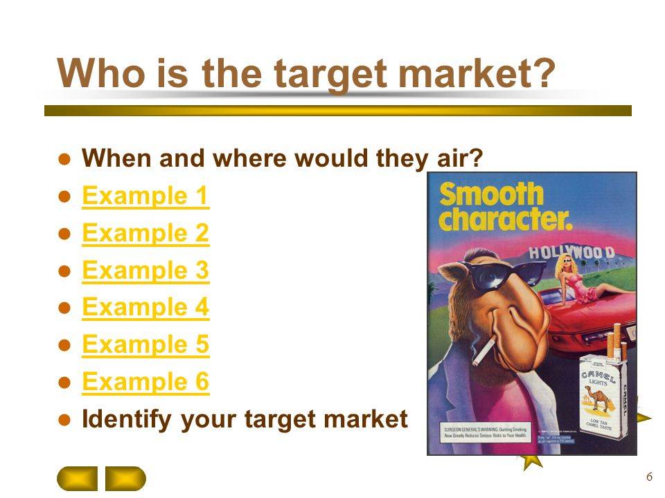 Who is the target market