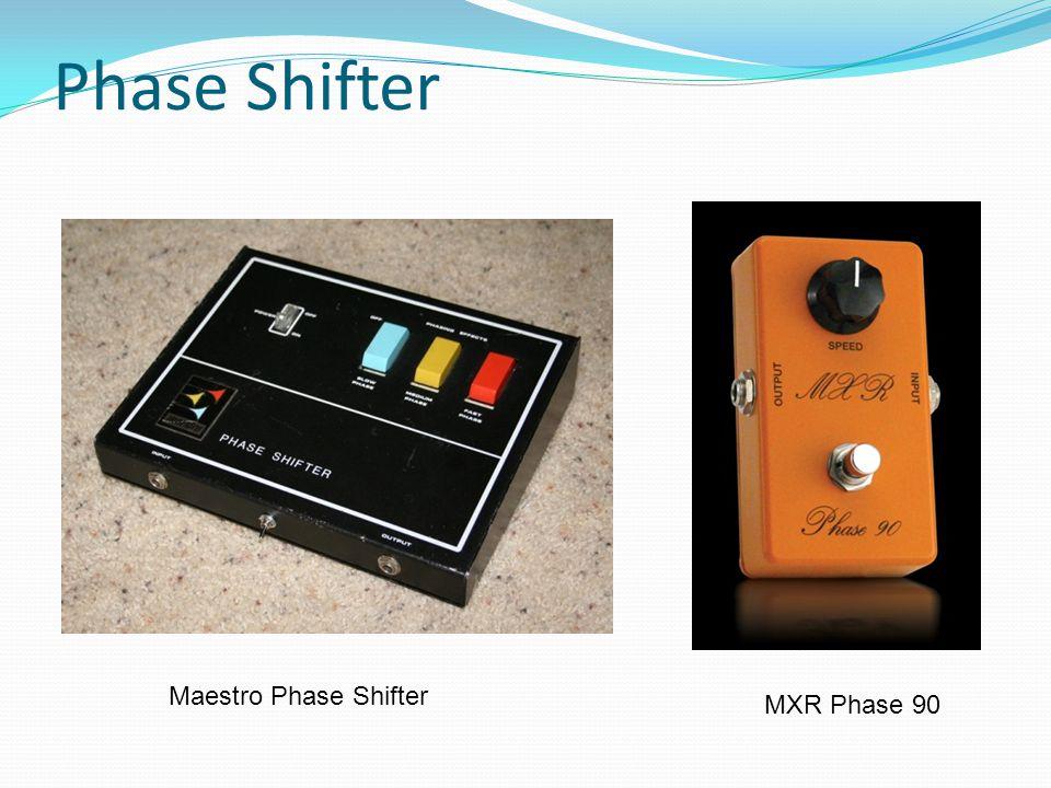 Phase Shifter O Maestro Phase Shifter MXR Phase 90