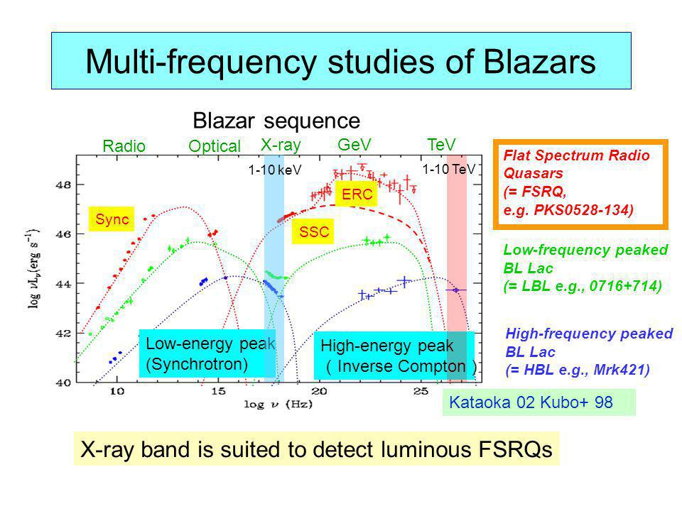 Multi-frequency studies of Blazars