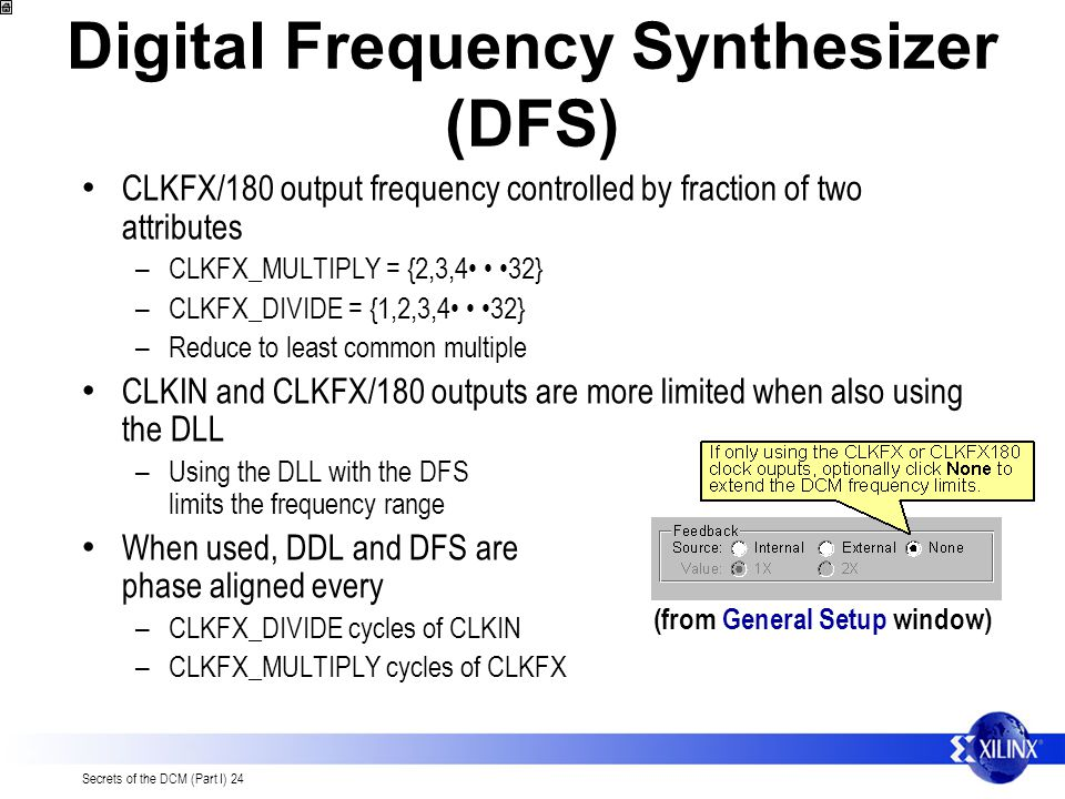 Digital Frequency Synthesizer (DFS)