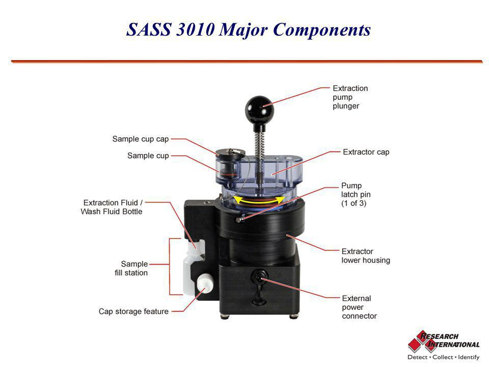 SASS 3010 Major Components