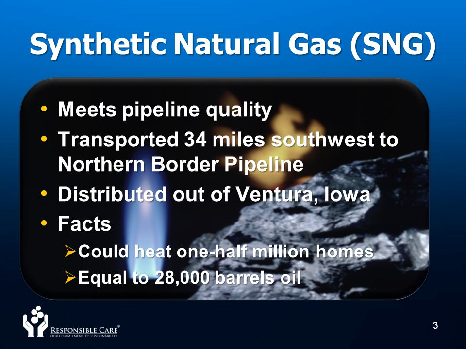 Synthetic Natural Gas (SNG)