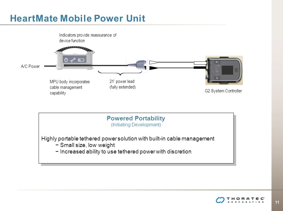 HeartMate Mobile Power Unit