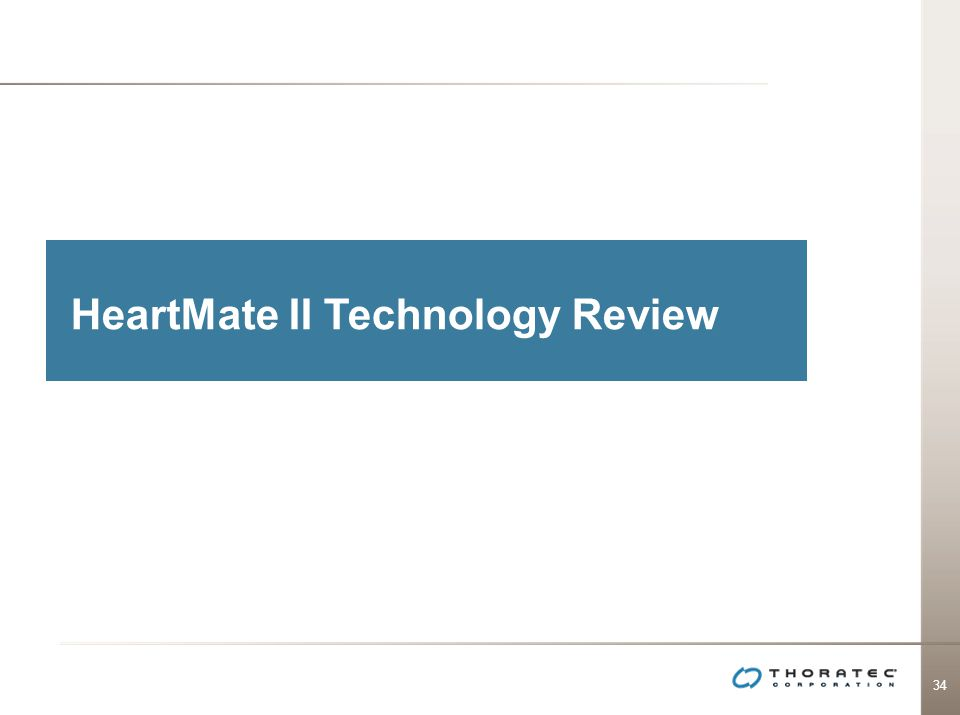 HeartMate II Technology Review