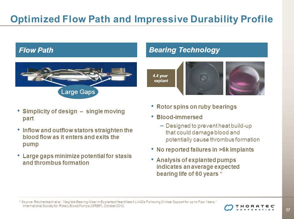 Optimized Flow Path and Impressive Durability Profile
