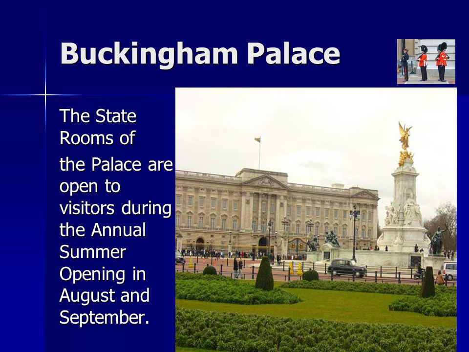 Buckingham Palace The State Rooms of
