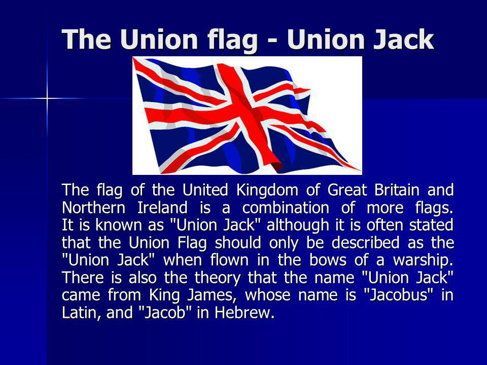 The Union flag - Union Jack