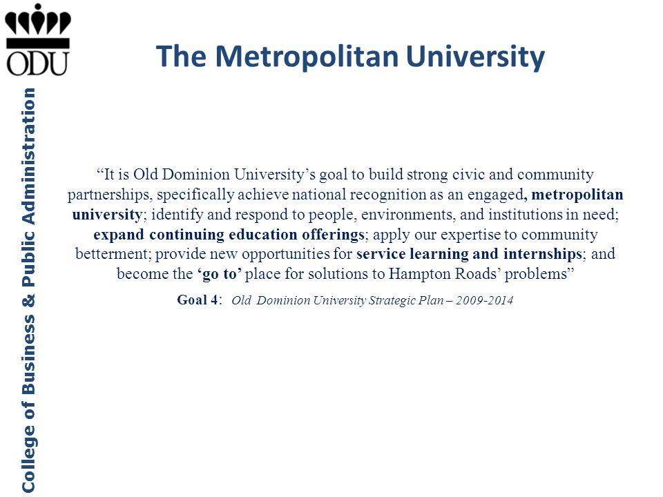 The Metropolitan University