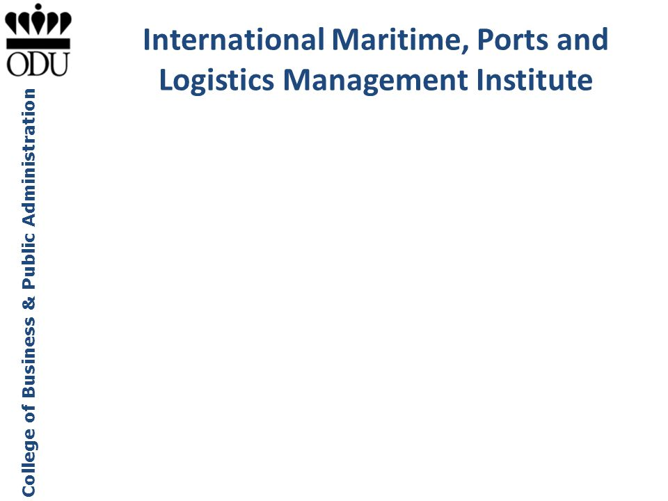 International Maritime, Ports and Logistics Management Institute