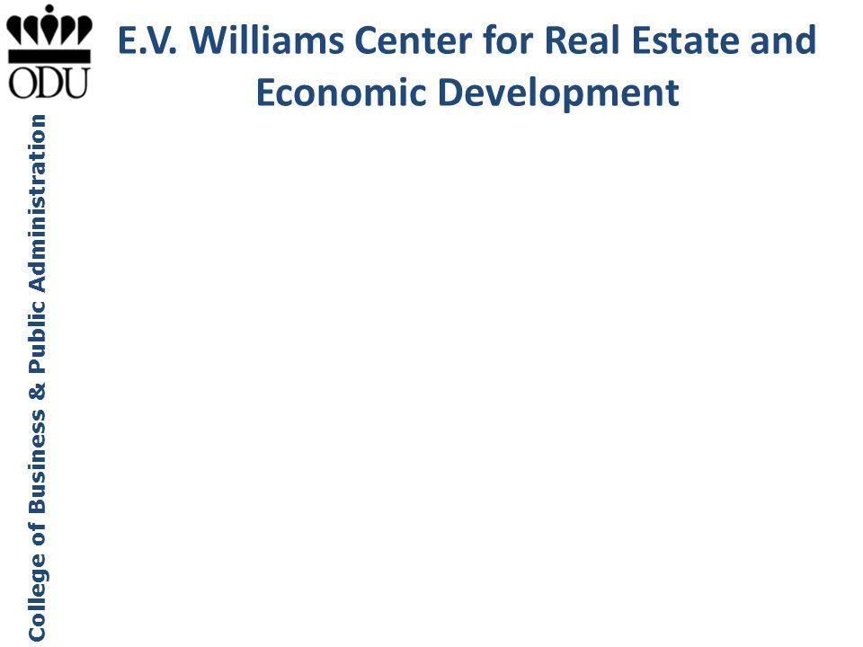 E.V. Williams Center for Real Estate and Economic Development
