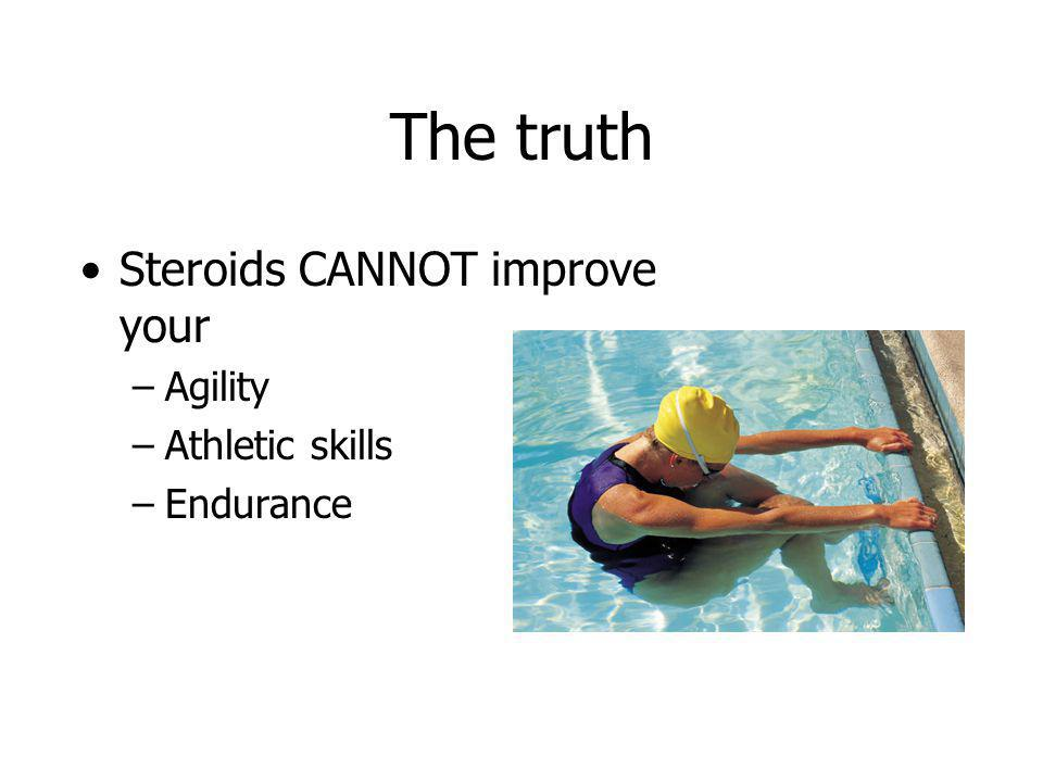 The truth Steroids CANNOT improve your Agility Athletic skills