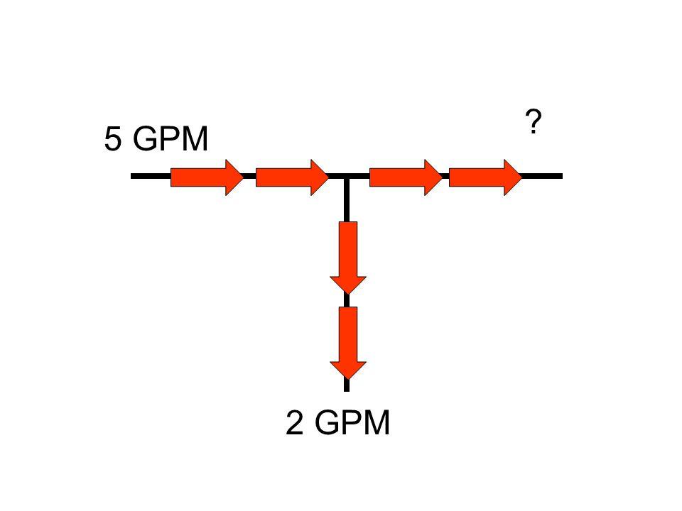 5 GPM 2 GPM