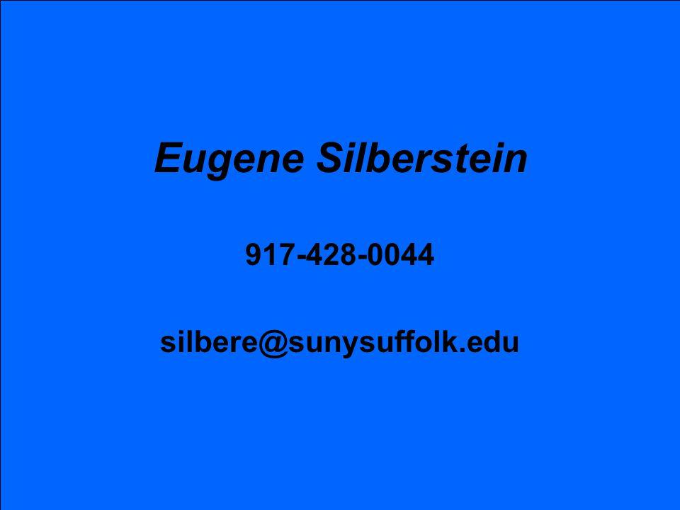 917-428-0044 silbere@sunysuffolk.edu