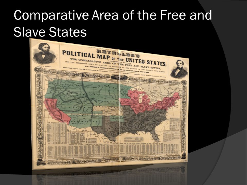 Comparative Area of the Free and Slave States