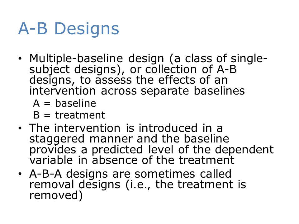 A-B Designs