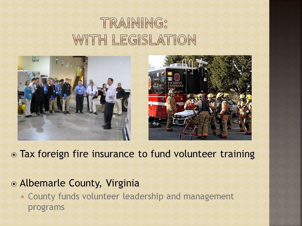 Training: with Legislation
