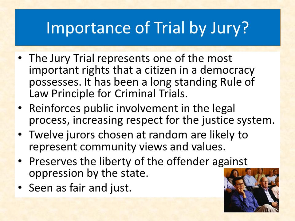 Importance of Trial by Jury