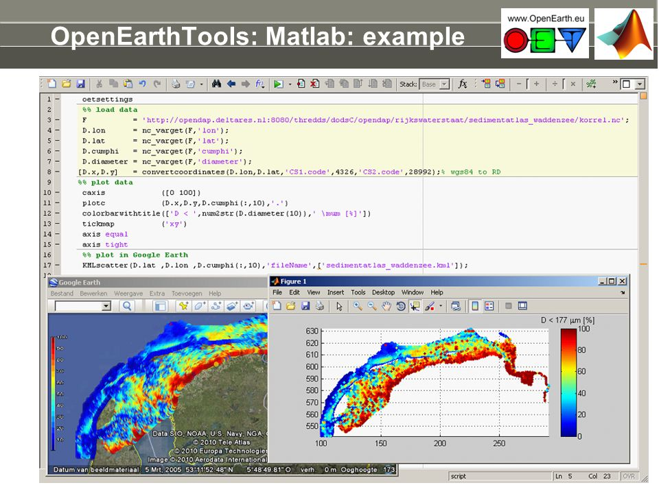 OpenEarthTools: Matlab: example