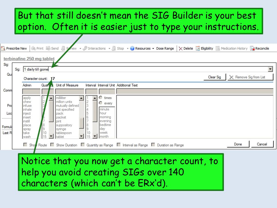 But that still doesn't mean the SIG Builder is your best option