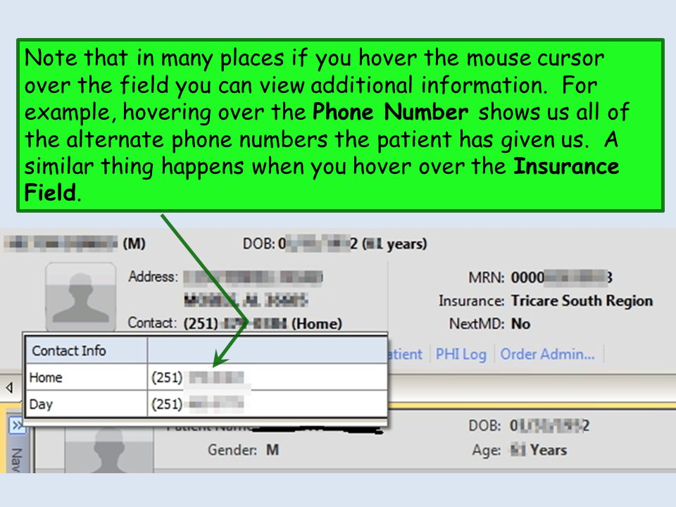Note that in many places if you hover the mouse cursor over the field you can view additional information.