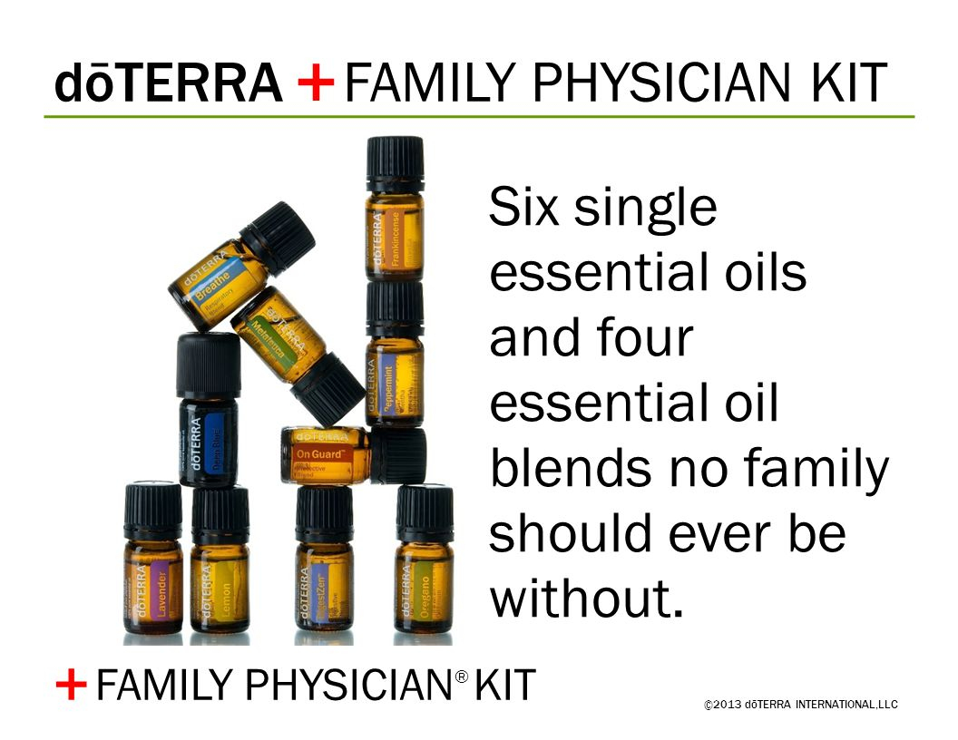 + + dōTERRA FAMILY PHYSICIAN KIT
