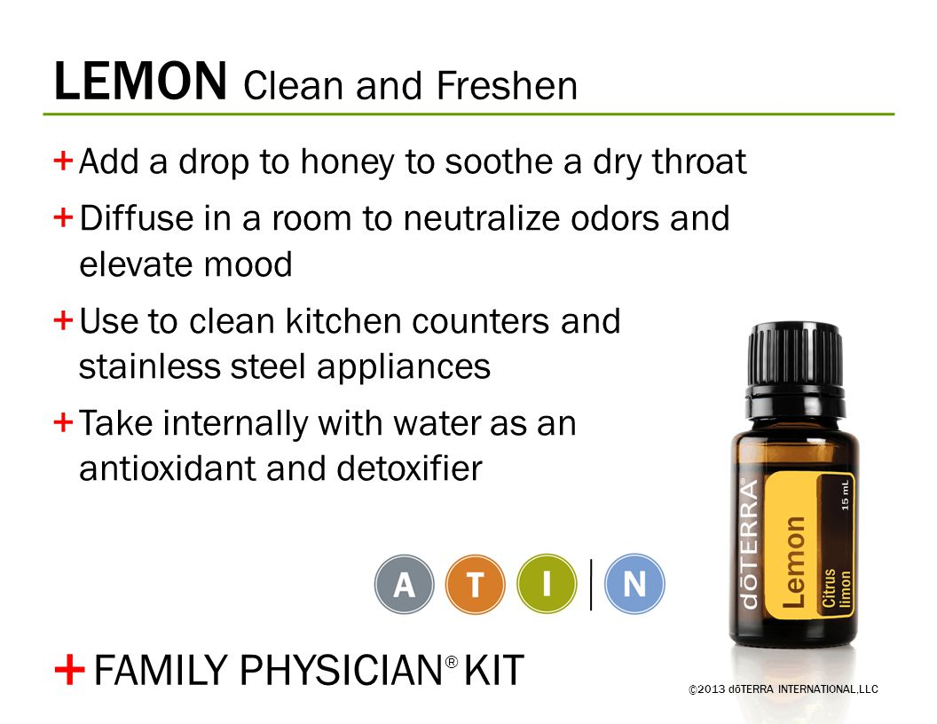 + LEMON Clean and Freshen FAMILY PHYSICIAN® KIT