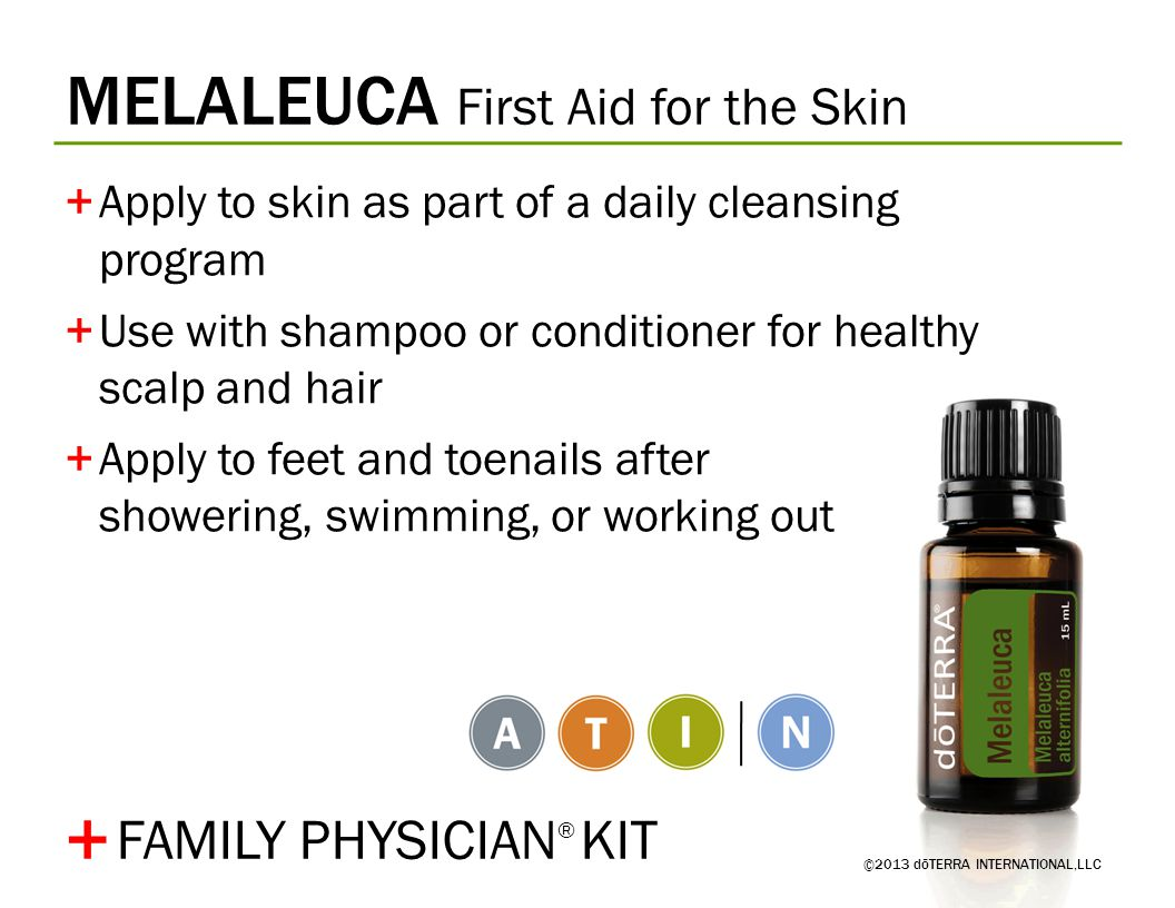 + MELALEUCA First Aid for the Skin FAMILY PHYSICIAN® KIT