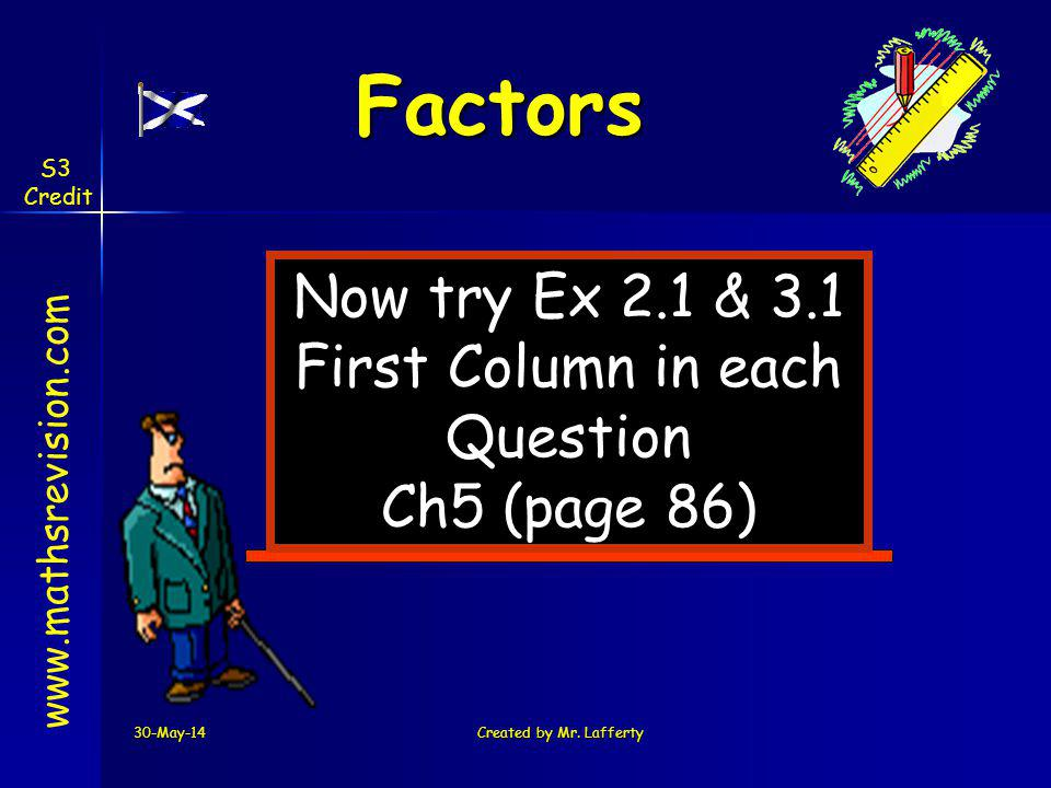 First Column in each Question