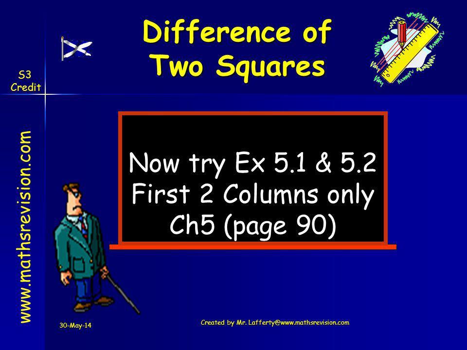 Created by Mr. Lafferty@www.mathsrevision.com