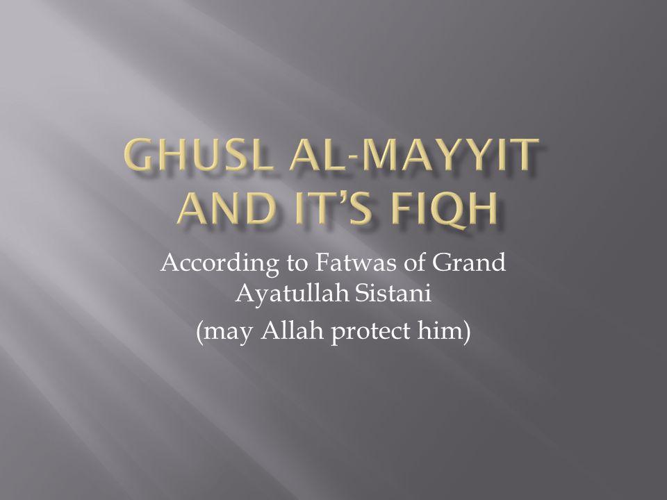 Ghusl al-Mayyit and It's Fiqh