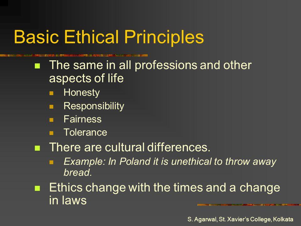 Basic Ethical Principles