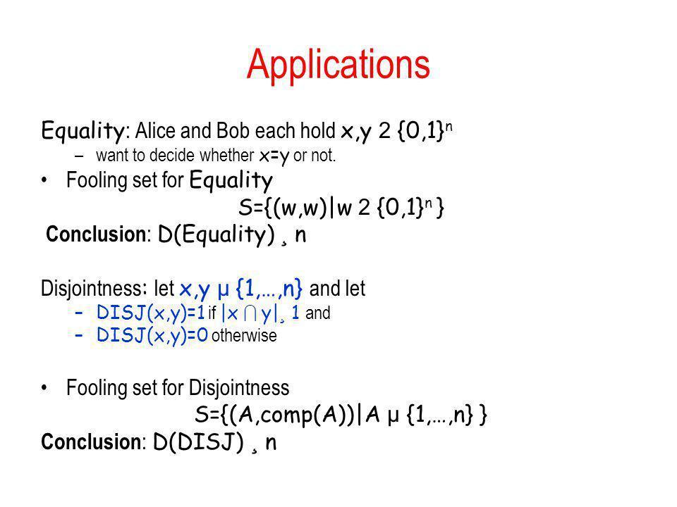 S={(A,comp(A))|A µ {1,…,n} }