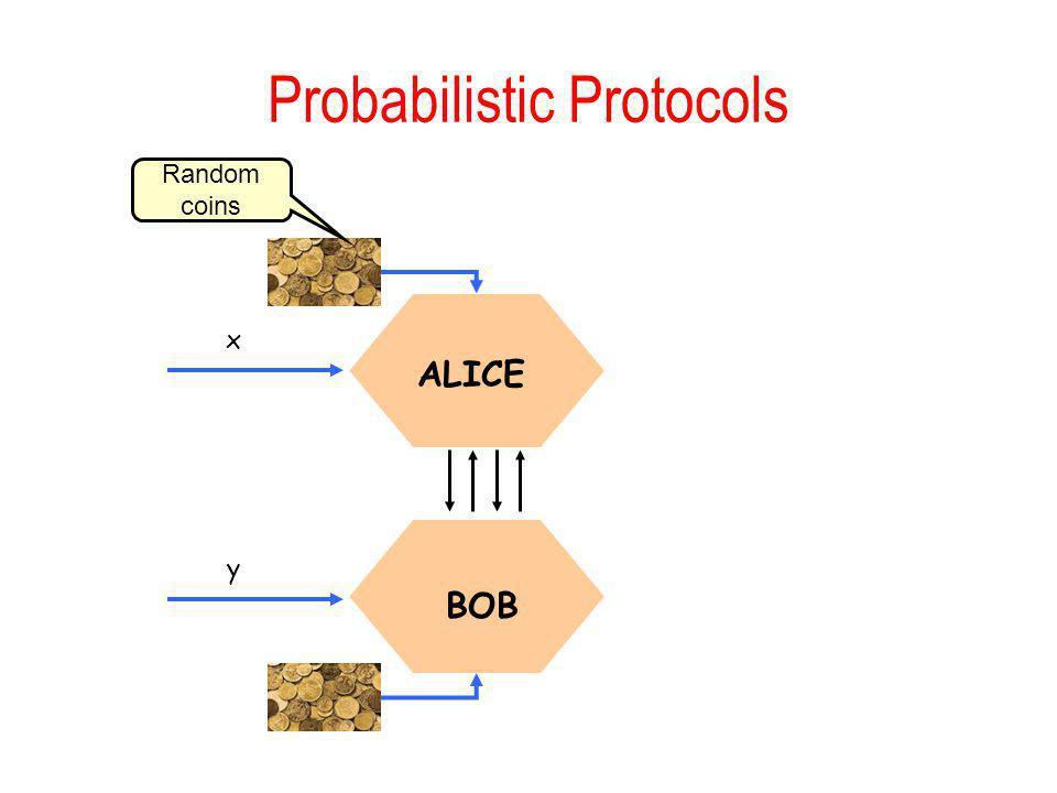 Probabilistic Protocols