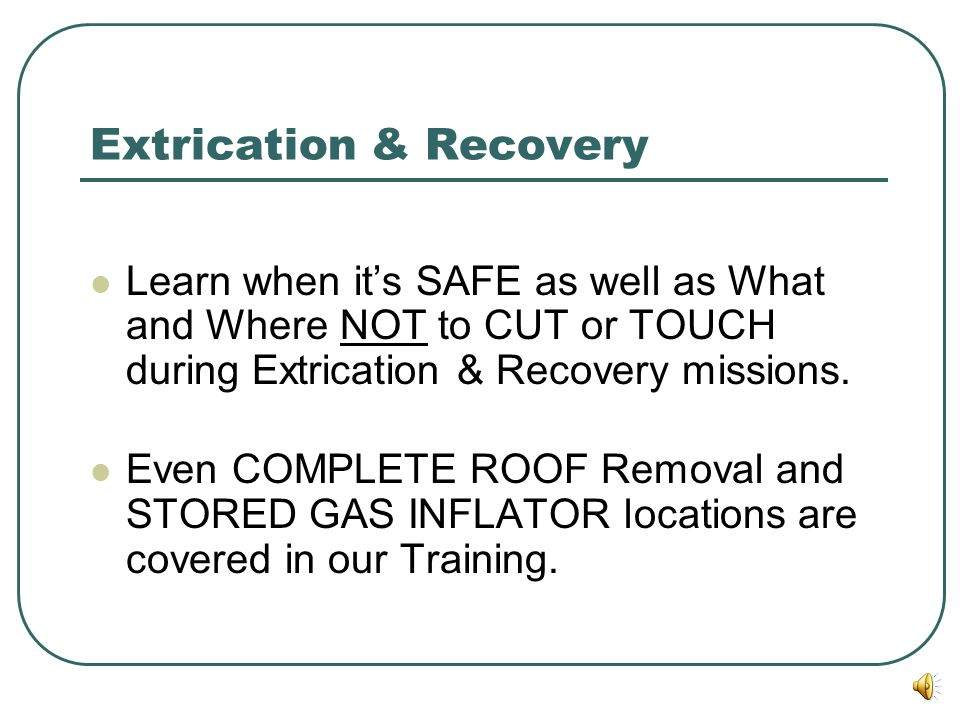Extrication & Recovery