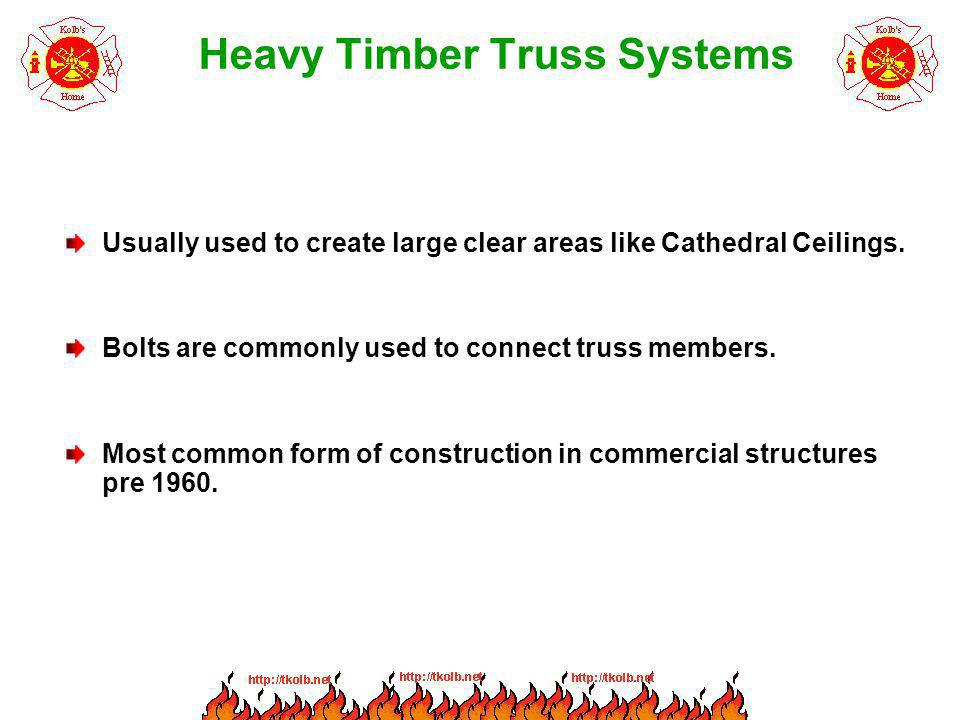 Heavy Timber Truss Systems