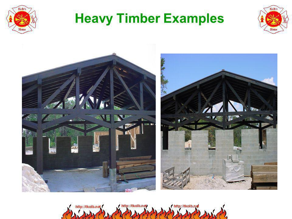 Heavy Timber Examples