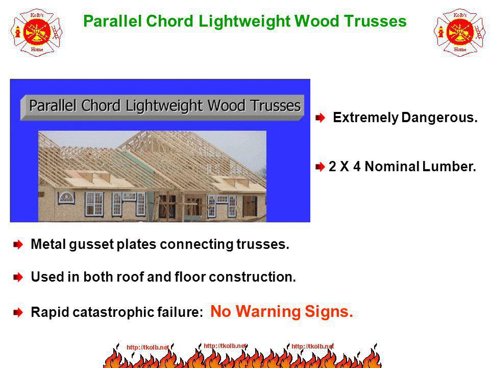 Parallel Chord Lightweight Wood Trusses